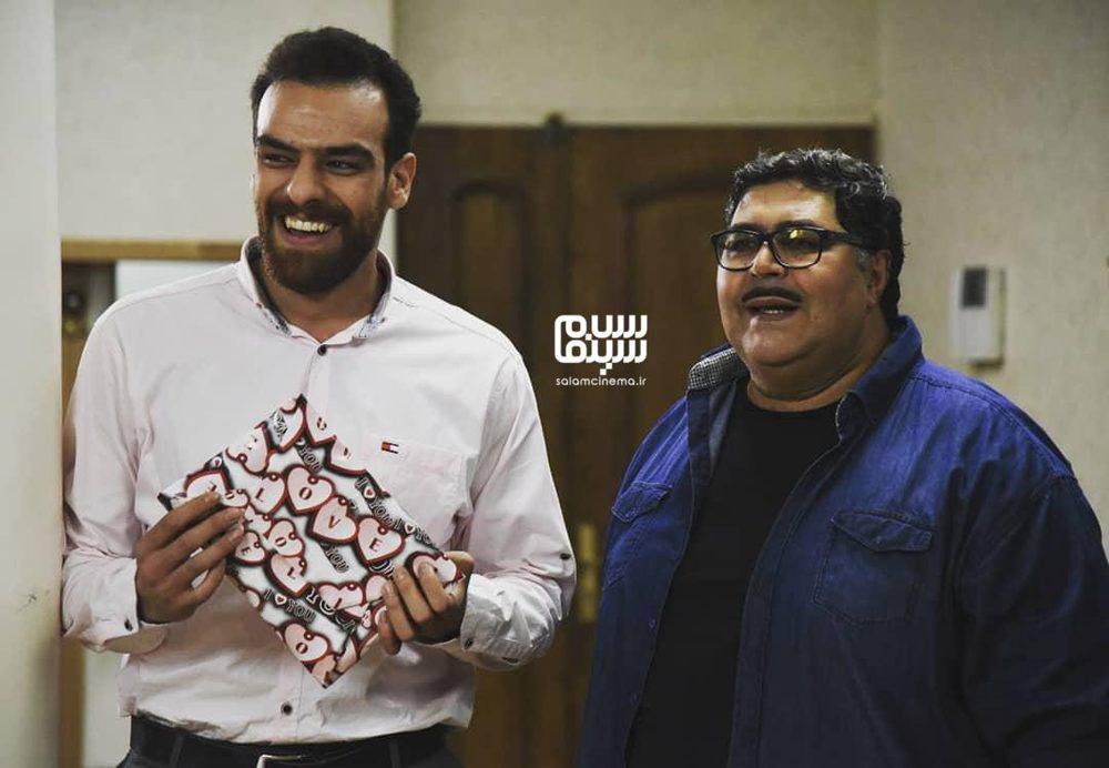 فرهاد اصلانی و شکیب شجره در سریال «هیولا»
