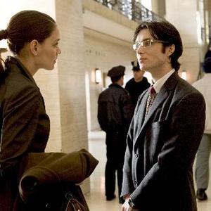 کیتی هولمز و کیلین مورفی در فیلم سینمایی «بتمن آغاز می کند» (Batman Begins)