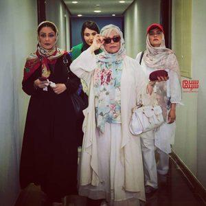 گوهر خیراندیش، میترا حجار، شقایق فراهانی و سمیرا حسن پور در فیلم «کلوپ همسران»