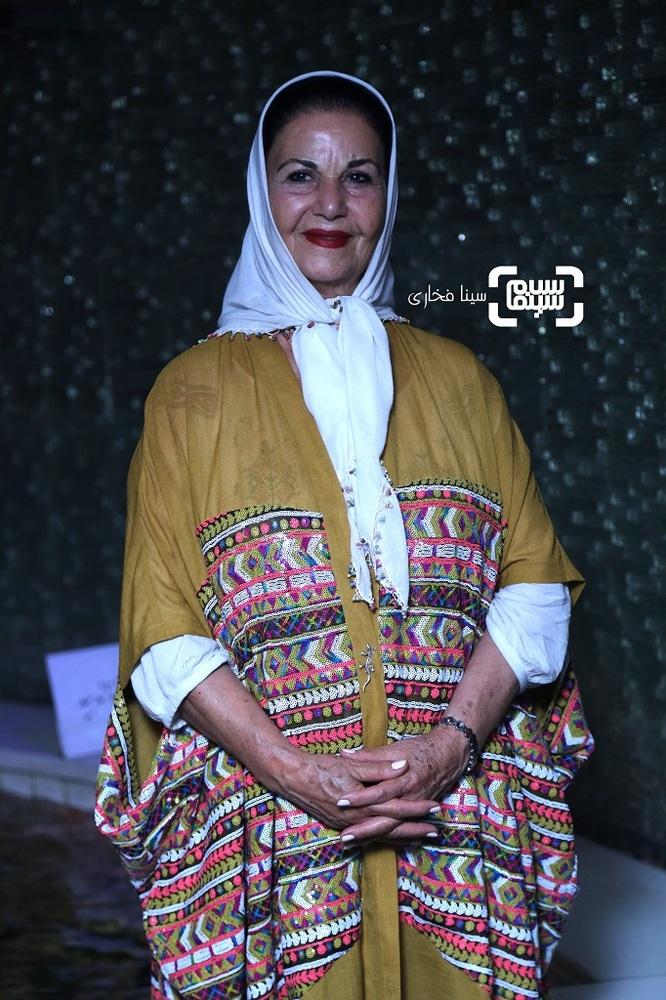 پوری بنایی در اکران خصوصی فیلم «کلوپ همسران» در ایوان شمس