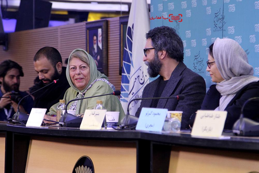 ثریا قاسمی در نشست «ویلایی ها» در جشنواره فیلم فجر35