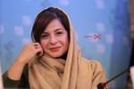 سیما تیرانداز در نشست «فراری» در سی و پنجمین جشنواره فیلم فجر
