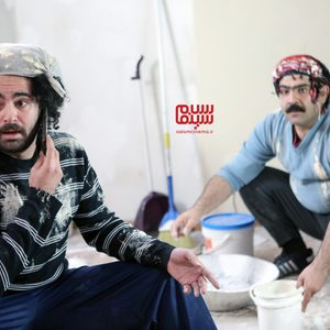 هومن شاهی و بهادر مالکی در سریال «زیر همکف»