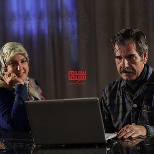عزت اله مهرآوران و پریسا مقتدی در سریال «زیر همکف»