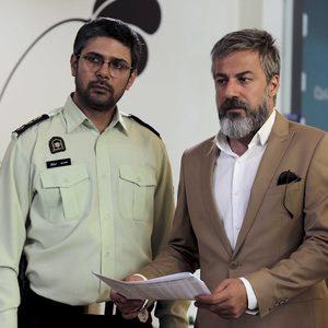امیر آقایی و محسن بهرامی در سریال «نوار زرد»