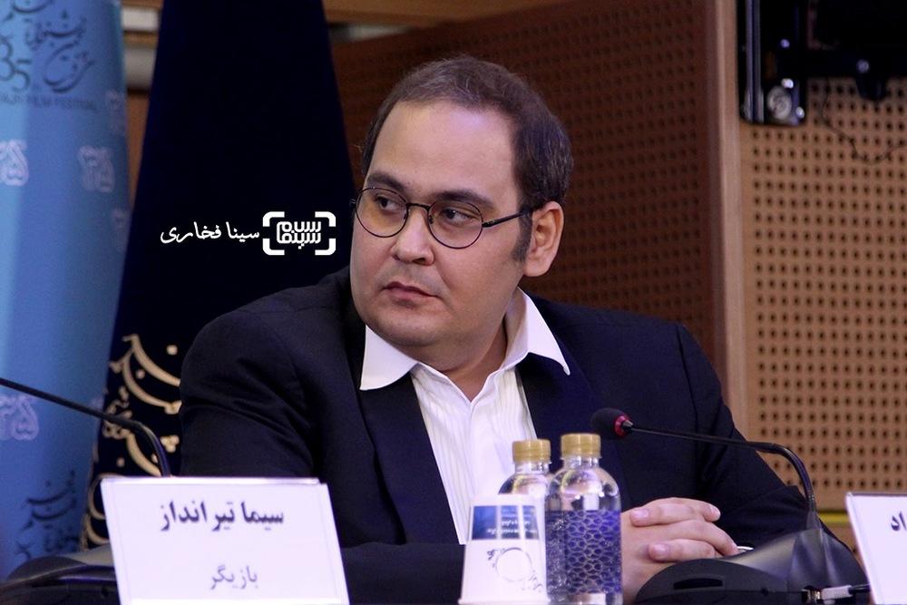 رضا داوودنژاد در نشست فیلم «فراری» در جشنواره فیلم فجر35