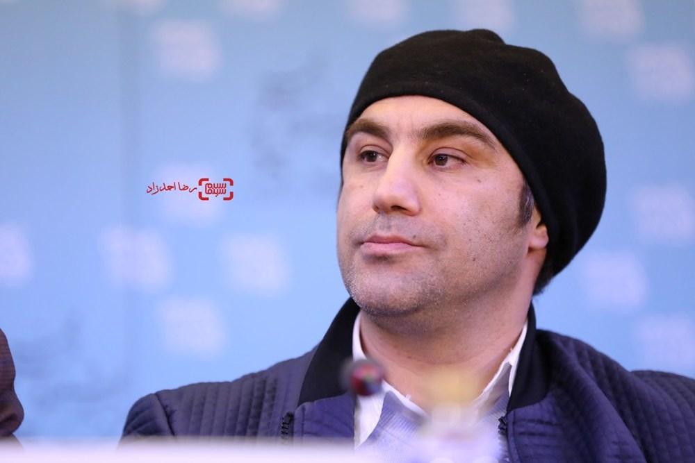 محسن تنابنده در نشست فیلم «فراری» در سی و پنجمین جشنواره فیلم فجر