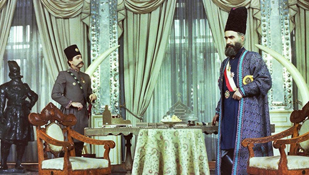 ایرج راد و سعید نیک پور در سریال «امیرکبیر»