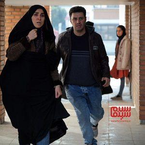 بهدخت ولیان و جواد عزتی در فیلم «پیلوت»