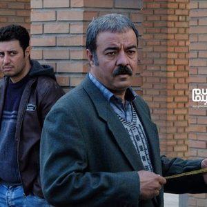 سعید آقاخانی و جواد عزتی در فیلم «پیلوت»