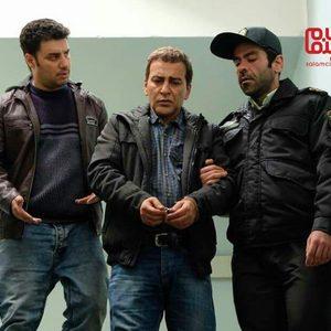 بانیپال شومون، حمیدرضا آذرنگ و جواد عزتی در فیلم «پیلوت»