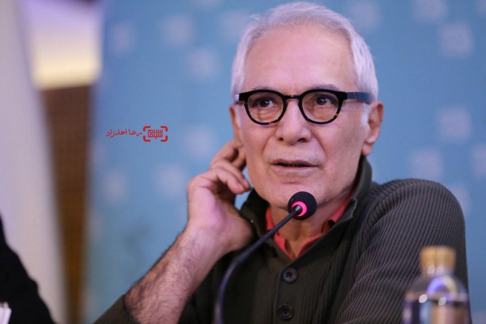محمود کلاری در نشست «فراری» در سی و پنجمین جشنواره فیلم فجر