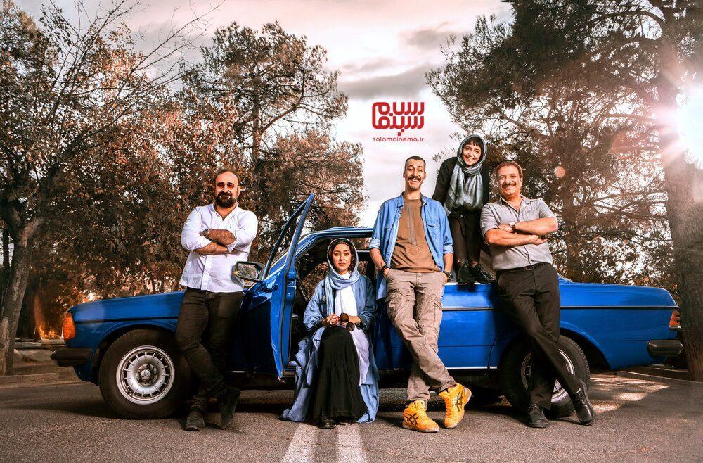 اولین عکس منتشر شده از بازیگران فیلم «سگ بند»
