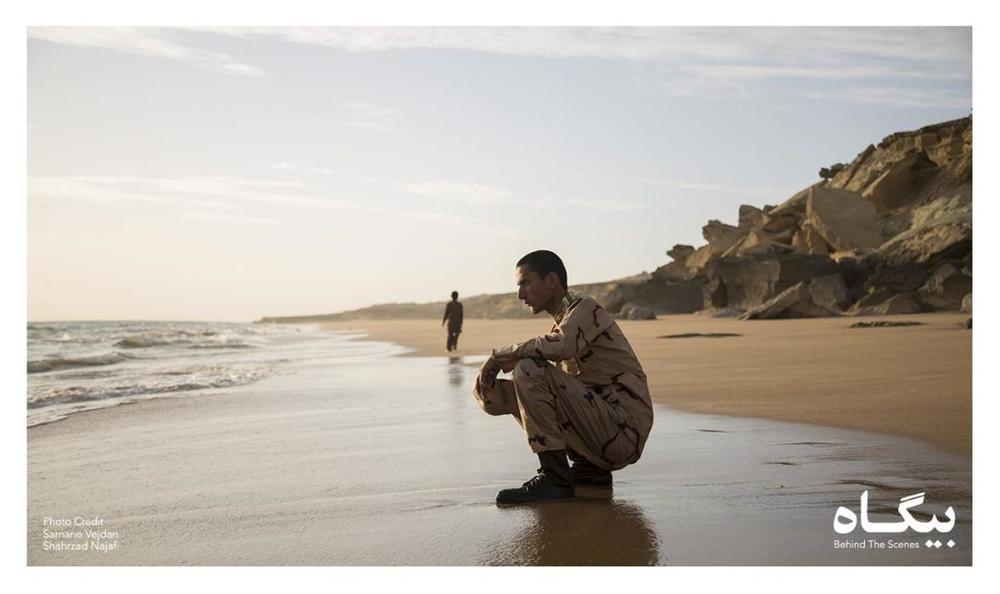 ایمان افشار در فیلم «بیگاه»