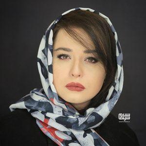 تست گریم مهراوه شریفی نیا برای سریال «دل»