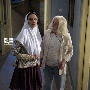میترا حجار و سعید پورصمیمی در فیلم سینمایی «نرگس مست»