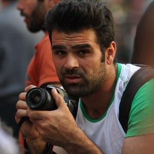 علیرضا شفیعی در پشت صحنه سریال «گمشدگان»