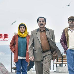 پرویز پرستویی، الناز شاکردوست و مهران احمدی در فیلم «مطرب»