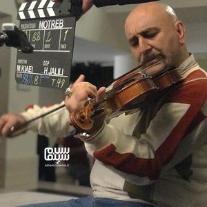 مهران احمدی در پشت صحنه فیلم «مطرب»