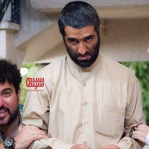 محسن کیایی، احمد مهران فر و پژمان جمشیدی در فیلم «دینامیت»