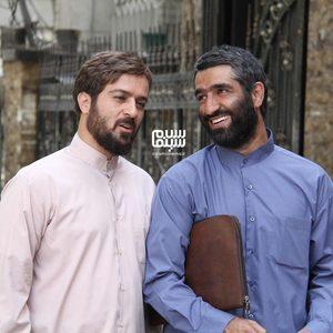 احمد مهران فر و پژمان جمشیدی در فیلم «دینامیت»