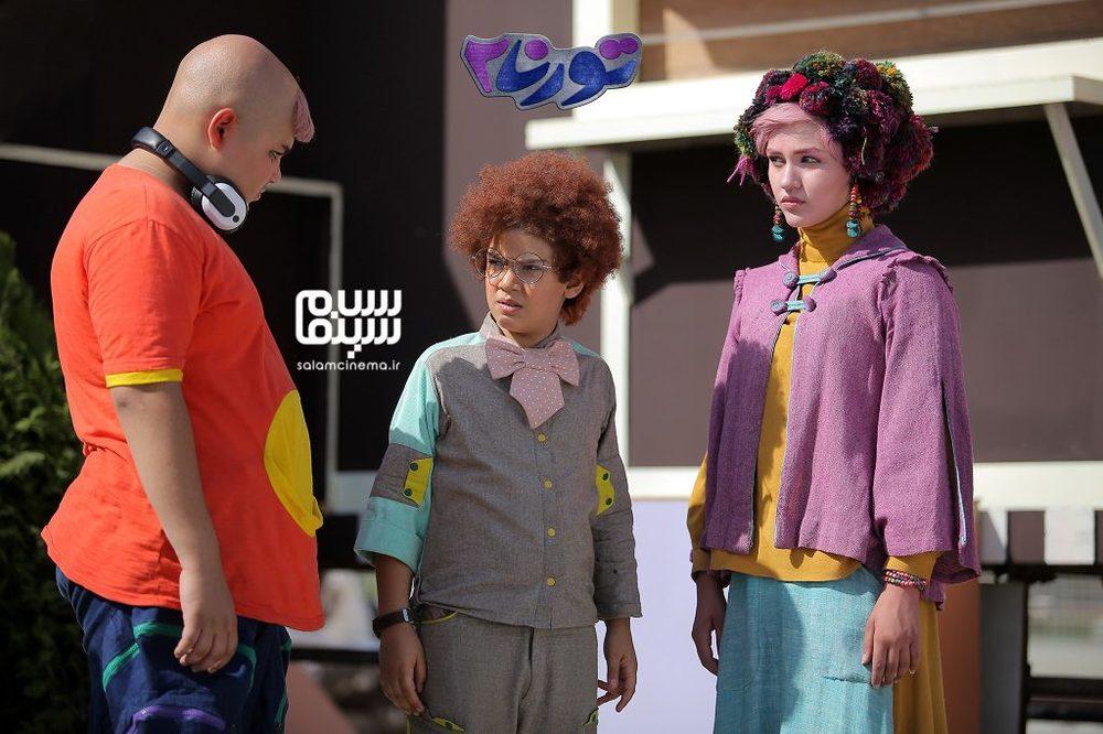 نگار نافذ، راستین عزیزپور و محمدمهدی ایرانی در فیلم «تورنا2»