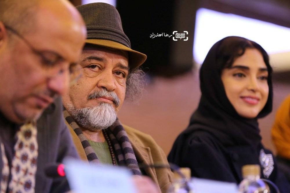 محمدرضا شریفینیا در نشست فیلم «سوفی و دیوانه» در سی و پنجمین جشنواره فیلم فجر