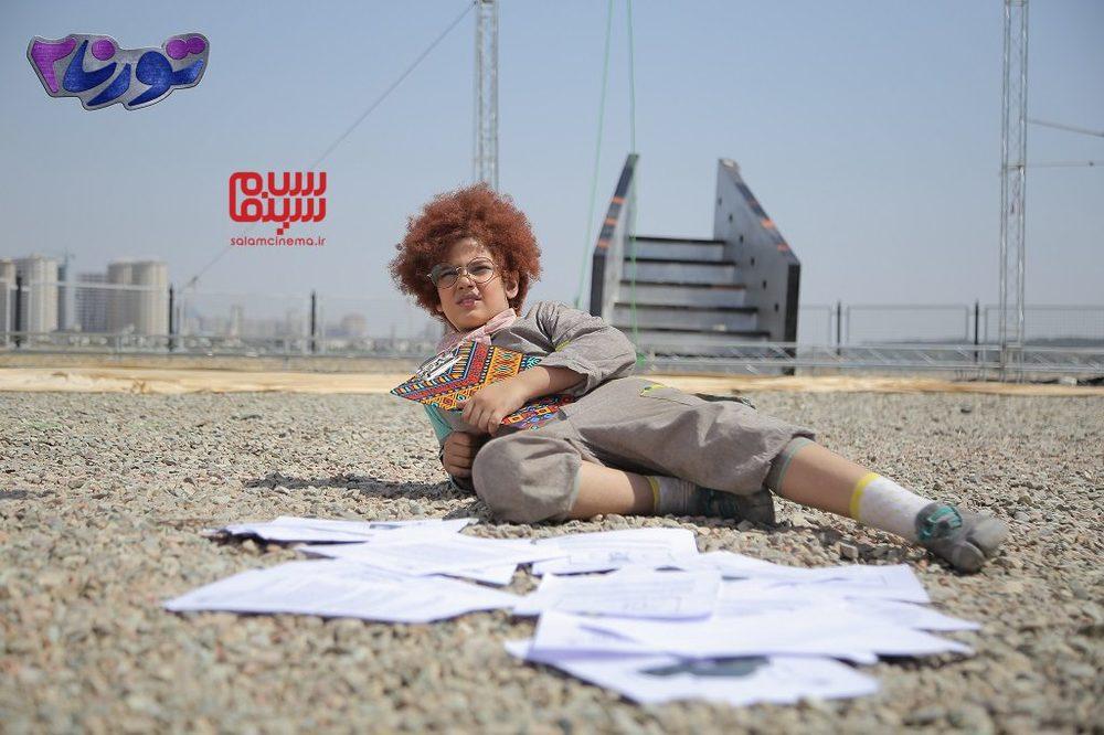 راستین عزیزپور در فیلم «تورنا2»