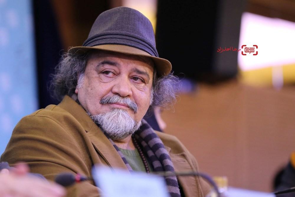 محمدرضا شریفینیا در نشست «سوفی و دیوانه» در سی و پنجمین جشنواره فیلم فجر