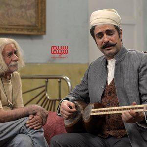 مهدی پاکدل و سعید پورصمیمی در فیلم «نرگس مست»