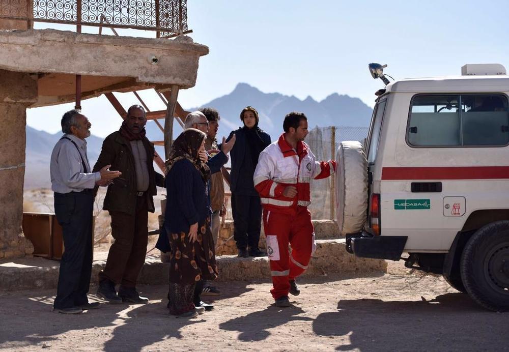 نمایی از فیلم «یک کامیون غروب»
