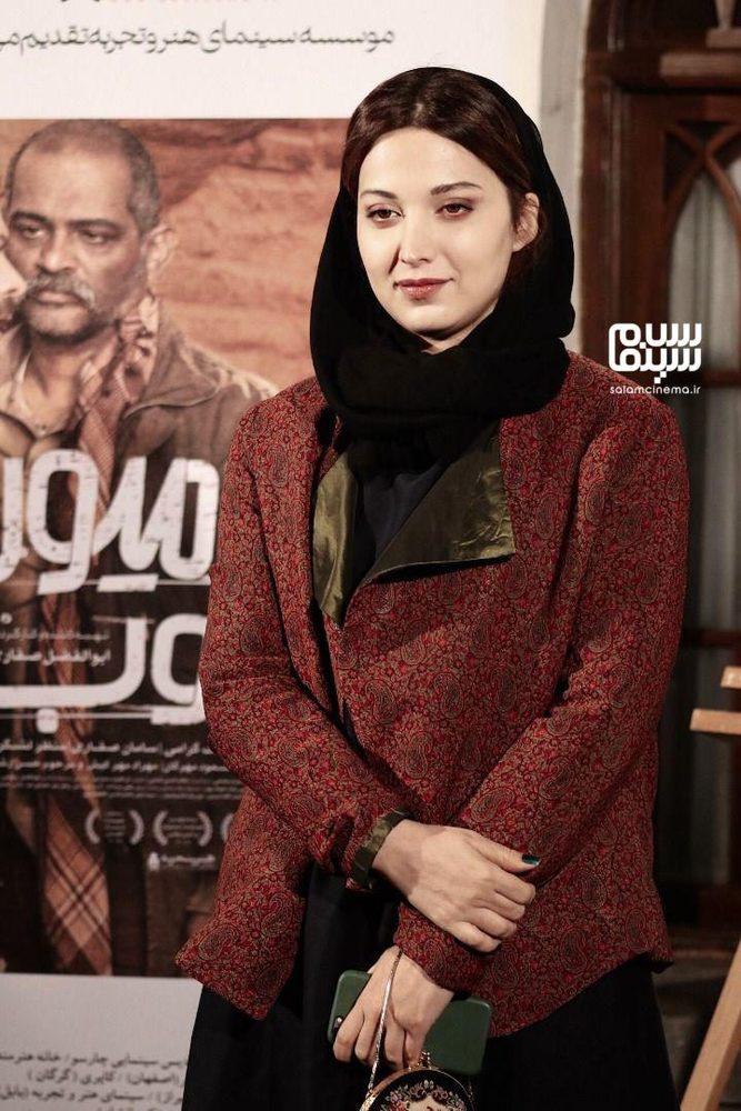روشنک گرامی در اکران خصوصی فیلم «یک کامیون غروب» در موزه سینما