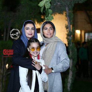 هدی زین العابدین، الهام کردا و ترنم کرمانیان در اکران خصوصی سریال «کرگدن»