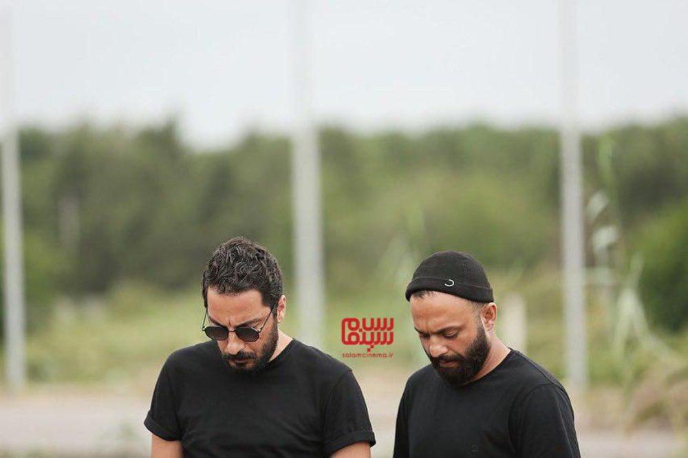 نوید محمدزاده و صابر ابر در سریال نمایش خانگی «قورباغه»