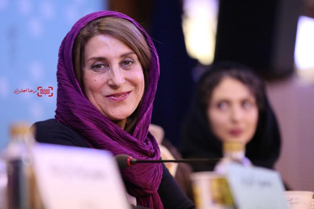فاطمه معتمدآریا در نشست «آباجان» در سی و پنجمین جشنواره فیلم فجر