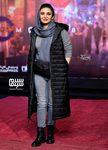 لیندا کیانی در اکران خصوصی فیلم سینمایی «مطرب» در سینما چارسو