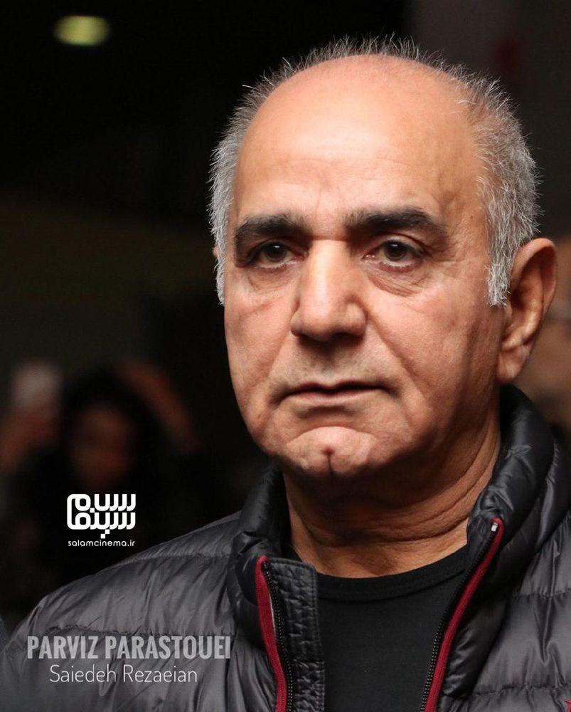 پرویز پرستویی در اکران خصوصی فیلم «مطرب» در سینما چارسو