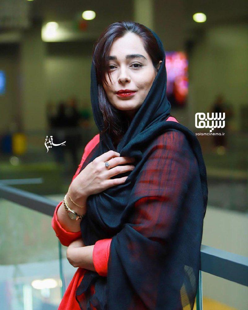 سانیا سالاری در اکران خصوصی فیلم «مطرب» در سینما چارسو