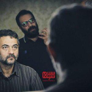 علیرضا ثانی فر در پشت صحنه فیلم سینمایی «قصیده گاو سفید»