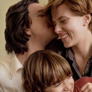 اسکارلت جوهانسون، آدام درایور و ازی رابرتسون در «داستان ازدواج»(Marriage Story)