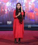 سانیا سالاری در اکران خصوصی «مطرب» در سینما چارسو