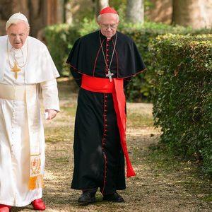 آنتونی هاپکینز و جاناتان پرایس در «دو پاپ»(The Two Popes)