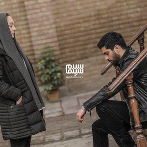 سینا مهراد و نیکی کریمی در سریال «آقازاده»