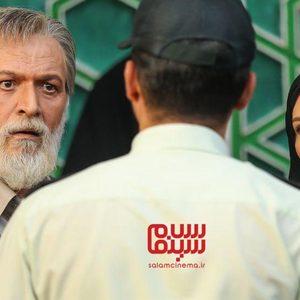 لعیا زنگنه و امین تارخ در سریال «آقازاده»