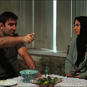سميرا حسن پور و مهران احمدي در فیلم تمشک
