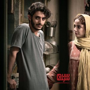 علی شادمان و ندا جبرائیلی در فیلم سینمایی «مردن در آب مطهر»