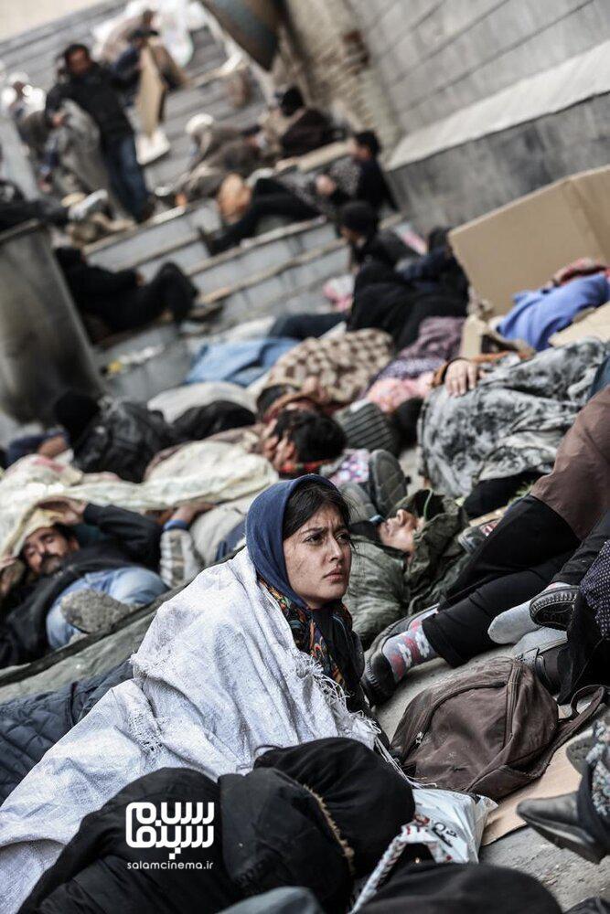 پردیس احمدیه در فیلم «مجبوریم»