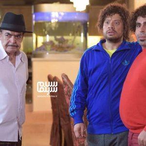 علی صادقی، امیر نوری و حمید لولایی در سریال «موچین»