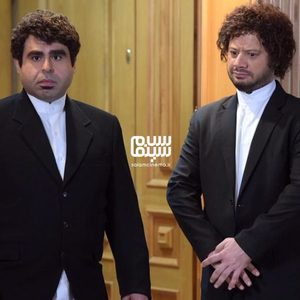 علی صادقی و امیر نوری در سریال «موچین»