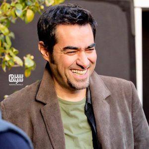 شهاب حسینی در پشت صحنه فیلم «آن شب»